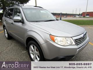 Used 2009 Subaru Forester 2.5L - AWD - XS for sale in Woodbridge, ON