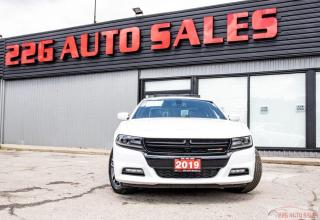 Used 2019 Dodge Charger SXT|ACCIDENT FREE|LEATHER|NAV|SUNROOF for sale in Brampton, ON