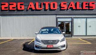 Used 2016 Hyundai Sonata 2.4L Sport Tech|ACCIDENT FREE\BACKUP CAM|SUNROOF for sale in Brampton, ON