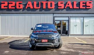 Used 2017 Land Rover Range Rover Evoque SE|ACCIDENT FREE|BACKUP CAM|LEATHER\SUNROOF for sale in Brampton, ON