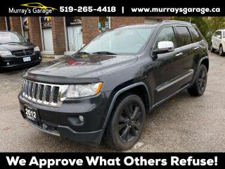 Used 2012 Jeep Grand Cherokee Overland for sale in Guelph, ON