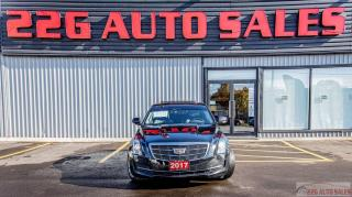 Used 2017 Cadillac ATS Luxury AWD|ACCIDENT FEE|MEMORY SEATS|LEATHER|NAV for sale in Brampton, ON