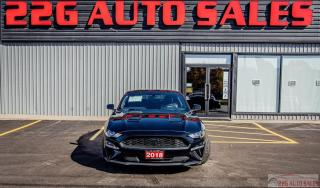 Used 2018 Ford Mustang EcoBoost Premium|ACCIDENT FREE|NAV|LEATHER|REMOTE for sale in Brampton, ON