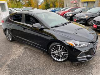 Used 2017 Hyundai Elantra SPORT/ LEATHER/ SUNROOF/ CAM/ BLUETOOTH/ ALLOYS ++ for sale in Scarborough, ON