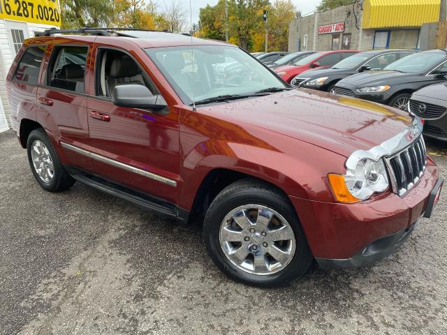 2008 Jeep Grand Cherokee DIESEL/ 4WD/ LEATHER/ SUNROOF/ ALLOYS/ TINTED ++