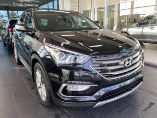 Used 2017 Hyundai Santa Fe Sport SPORT LIMITED, HEATED STEERING WHEEL, NAVI, POWER HEATED/VENTED LEATHER SEATS for sale in Edmonton, AB