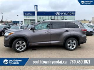 Used 2015 Toyota Highlander LIMITED V6 AWD7PASS/REMOTE STARTER/LEATHER/NAV for sale in Edmonton, AB