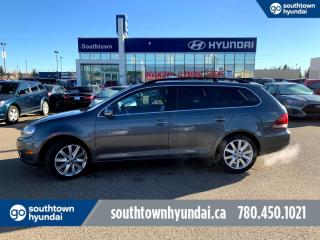 Used 2012 Volkswagen Golf Wagon HIGHLINE/LEATHER/NAVI/ROOF/BACK UP CAM for sale in Edmonton, AB