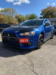 Used 2015 Mitsubishi Lancer Evolution GSR for sale in Toronto, ON