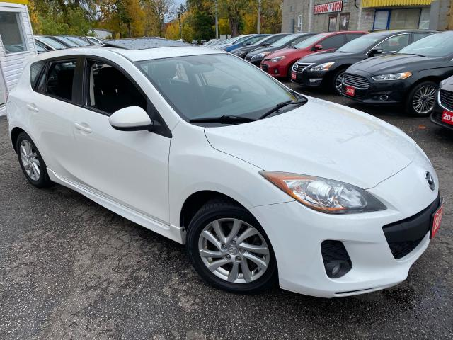 2012 Mazda MAZDA3 GS/AUTO/SUNROOF/BLUETOOTH/LOADED/ALLOYS ++