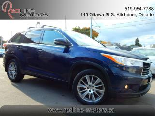 Used 2014 Toyota Highlander XLE AWD.Navi.Camera.Leather.Roof.8Passenger.LowKms for sale in Kitchener, ON