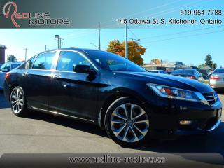 Used 2015 Honda Accord Sport.Auto.ReverseCamera.HeatedSeats.ExtraClean for sale in Kitchener, ON