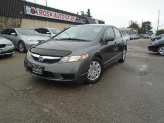 Used 2010 Honda Civic 4DR AUTO NO ACCIDENT LOW KM PW PM Cruise A/C for sale in Oakville, ON