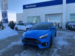 Used 2016 Ford Focus RS AWD/LEATHER/SUNROOF/NAV/LOWKMS for sale in Edmonton, AB