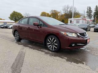 Used 2013 Honda Civic Sdn Touring 4dr FWD Sedan for sale in Brantford, ON