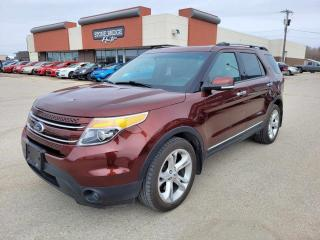 Used 2015 Ford Explorer Limited 4dr 4WD Sport Utility for sale in Steinbach, MB