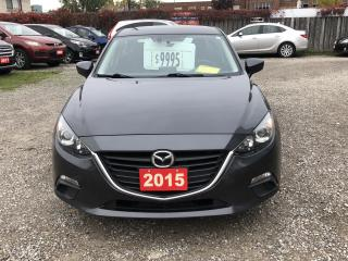 Used 2015 Mazda MAZDA3 GS for sale in Hamilton, ON