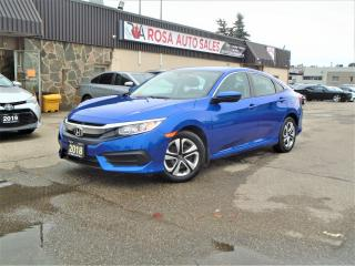 Used 2018 Honda Civic LX SEDAN 1 OWNER  FACTORY WARRANT B-TOOTH B-CAMERA for sale in Oakville, ON
