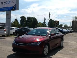 Used 2015 Chrysler 200 LX POWERGROUP, A/C, GREAT BUY!! for sale in Kingston, ON