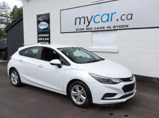 Used 2017 Chevrolet Cruze LT Auto HEATED PWR SEAT, ALLOYS, BACKUP CAM!! for sale in Kingston, ON