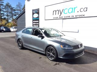 Used 2016 Volkswagen Jetta 1.4 TSI Trendline SUNROOF, HEATED SEATS, BACKUP CAM!! for sale in Kingston, ON