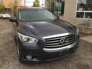 Used 2014 Infiniti QX60 Deluxe, Touring, Technology for sale in Waterloo, ON