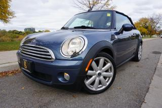 Used 2010 MINI Cooper Convertible CONVERTIBLE / NO ACCIDENTS / SUPER FUN / LOCAL CAR for sale in Etobicoke, ON