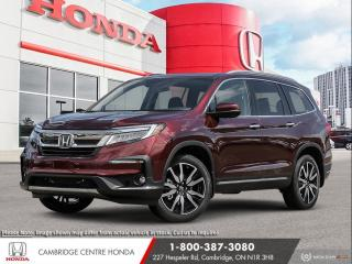 New 2021 Honda Pilot Touring 8P APPLE CARPLAY™ & ANDROID AUTO™ | REMOTE ENGINE STARTER | HONDA SENSING TECHNOLOGIES for sale in Cambridge, ON