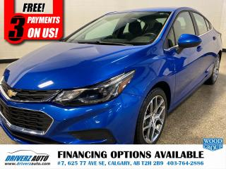 Used 2017 Chevrolet Cruze LT AUTO for sale in Calgary, AB