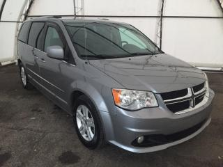 Used 2014 Dodge Grand Caravan Crew SUNROOF, NAVIGATION, DVD, BLIND SPOT DETECTION for sale in Ottawa, ON