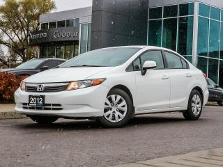 Used 2012 Honda Civic LX for sale in Cobourg, ON