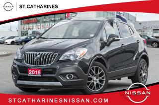Used 2016 Buick Encore Sport Touring Navi | Roof | Leather | Accident Free for sale in St. Catharines, ON