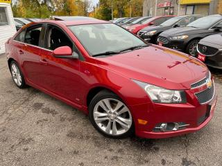 Used 2012 Chevrolet Cruze RS PKG/ AUTO/ SUNROOF/ BLUETOOTH/ ALLOYS ++ for sale in Scarborough, ON