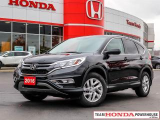 Used 2016 Honda CR-V EX--1 Owner--AWD--Backup Camera--Heated Seats for sale in Milton, ON