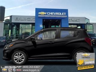 New 2020 Chevrolet Spark 1LT CVT - SiriusXM for sale in Burlington, ON