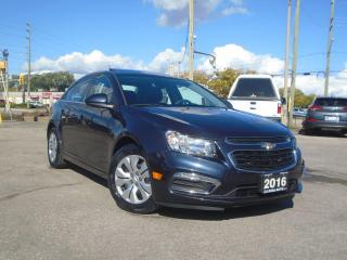 Used 2016 Chevrolet Cruze 4DR SDN LOW KM 68148KM NO ACCIDENT SUNROOF F WARRA for sale in Oakville, ON