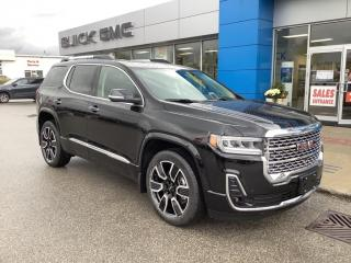 New 2021 GMC Acadia Denali for sale in Listowel, ON