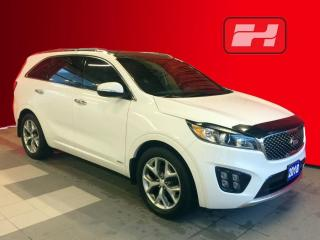Used 2018 Kia Sorento 2.0L SX Navigation | Sunroof | Leather Seats for sale in Listowel, ON