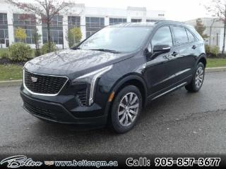 New 2021 Cadillac XT4 Sport - $351 B/W for sale in Bolton, ON