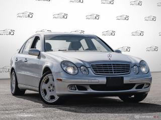 Used 2005 Mercedes-Benz E-Class for sale in Oakville, ON