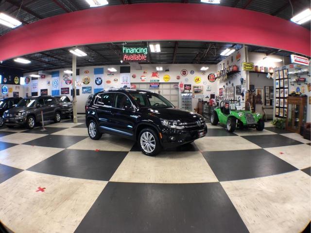 2017 Volkswagen Tiguan HIGHLINE AWD AUTO NAVI LEATHER BACKUP CAM SUNROOF