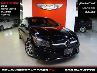 Used 2016 Mercedes-Benz CLA-Class AMG 4MATIC | ACCIDENT FREE | FINANCE @ 4.65% for sale in Oakville, ON