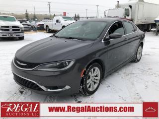 Used 2016 Chrysler 200 Limited 4D Sedan 2.4L for sale in Calgary, AB