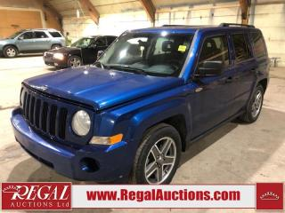 Used 2009 Jeep Patriot North 4D Utility 4WD for sale in Calgary, AB