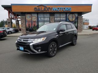 Used 2018 Mitsubishi Outlander Phev GT - Sunroof, Heated Seats, Hybrid for sale in Courtenay, BC