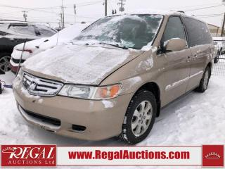Used 2002 Honda Odyssey WAGON for sale in Calgary, AB
