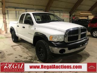 Used 2005 Dodge Ram 1500 Quad Cab 4WD for sale in Calgary, AB