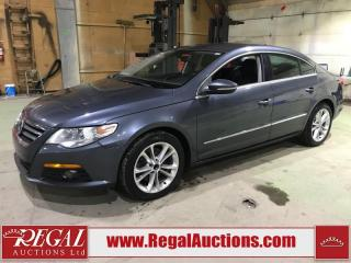 Used 2011 Volkswagen Passat CC SPORTLINE 4D COUPE 2.0 FWD for sale in Calgary, AB