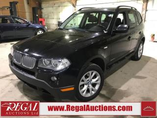 Used 2010 BMW X3 XDRIVE 28I 4D UTILITY AWD for sale in Calgary, AB