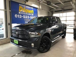 Used 2017 RAM 1500 Sport Crew 4X4 | Sunroof, Nav & Air Suspension for sale in Nepean, ON